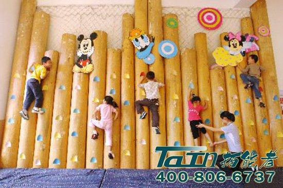 幼儿园-儿童攀岩